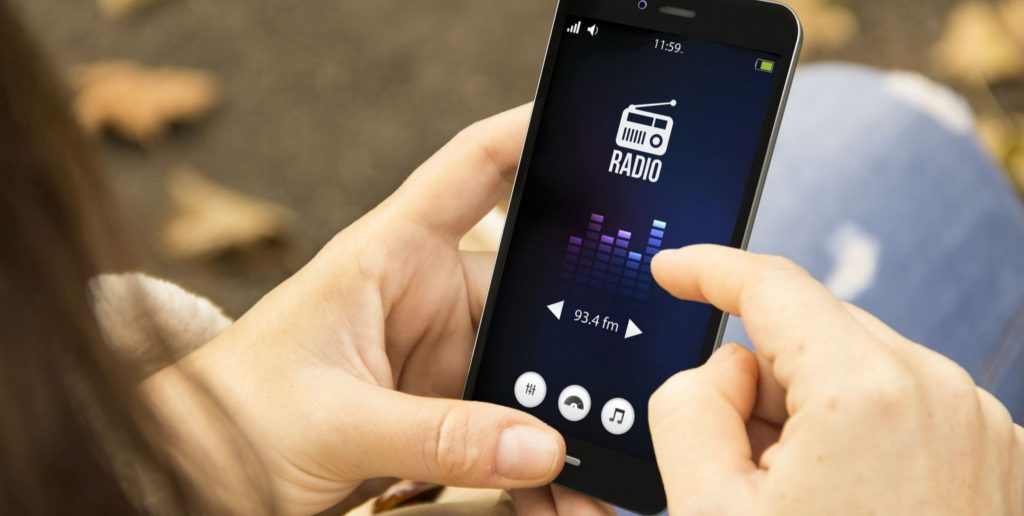 Internetradio auf tragbaren Geräten